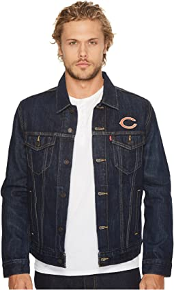 Bears Sports Denim Trucker