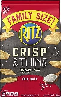Ritz Crisp & Thins Sea Salt Chips, 10 Ounce
