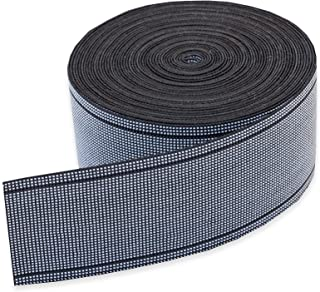 """Wholesale Upholstery Supply 3"""", Elastic 80% Latex Stretch Commercial Webbing 3"""" inches Wide x 40' feet, for Furniture Repair DIY"""