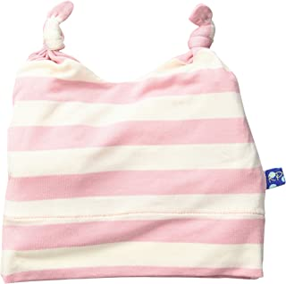 Baby Girls' Essentials Print Double Knot Hat