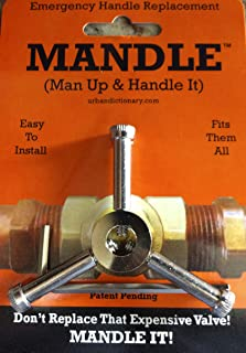 Universal Plumbing Repair Handle- Emergency Valve Handle Replacement-One Handle FITS ALL VALVES!