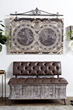Deco 79 WOOD WALL DÉCOR, Oversized, Brown