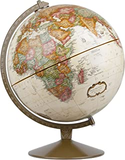 Replogle Globes Franklin World Globe, Antique Ocean, 12-Inch Diameter,Over 4,000 Place Names