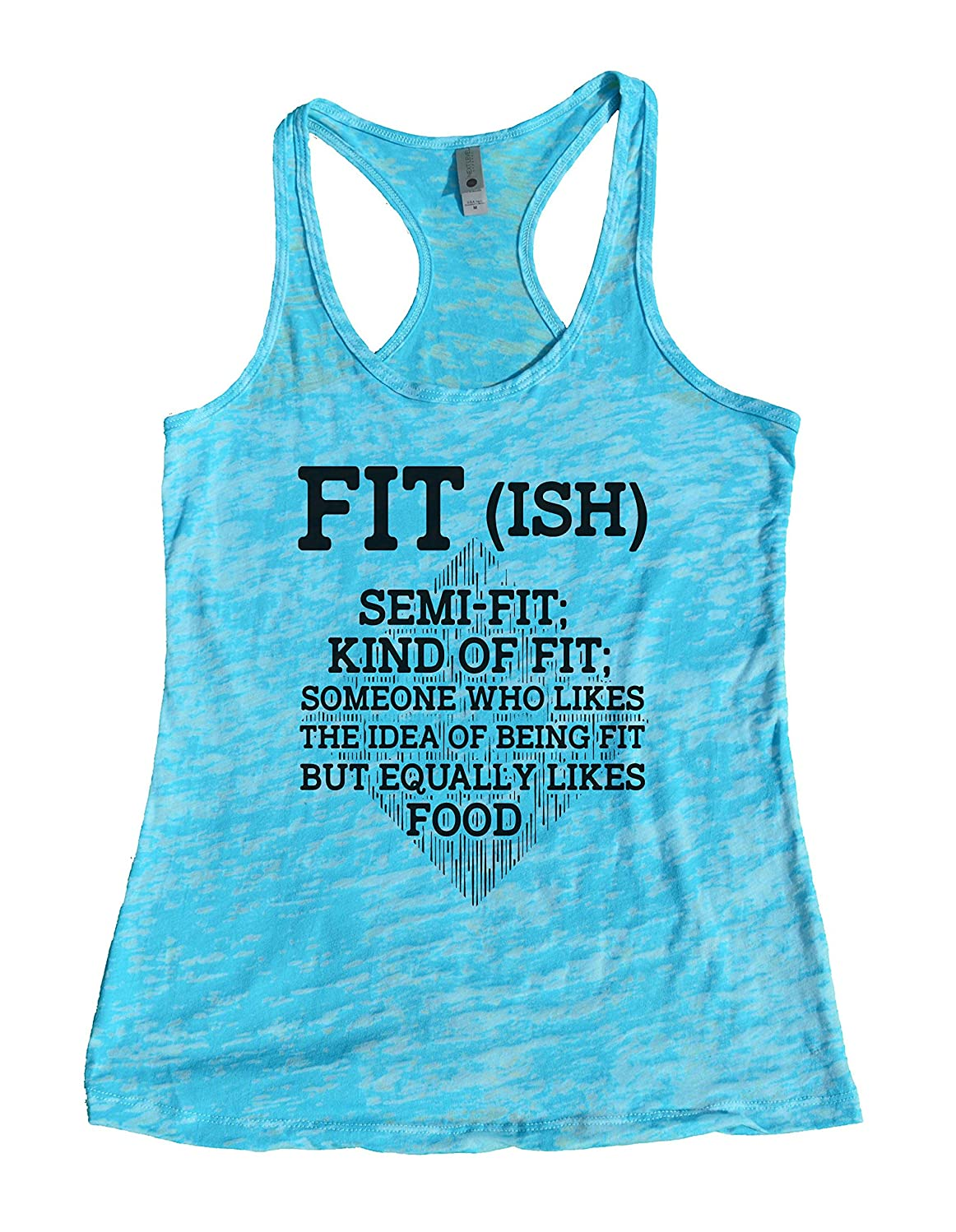 Funny Saying Womens Workout Tanks Fit-ish Definition Royaltee Gym Shirts