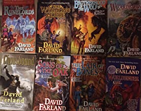 The Runelords Complete 8 Book Series Set by David Farland
