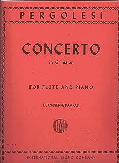 Best pergolesi flute concerto Reviews