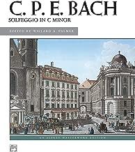 Solfeggio in C minor: Sheet (Alfred Masterwork Edition)