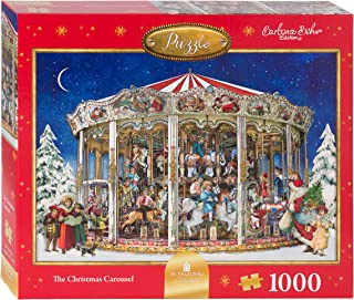 Coppenrath Unique Christmas Jigsaw Puzzle - Premium Made in England - The Christmas Carousel