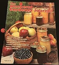 The Weekend Gardener Journal July/August 1986 (Vol.3, No.1)