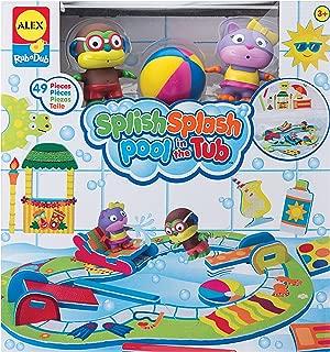 ALEX Toys Rub a Dub Splish Splash Pool in the Tub