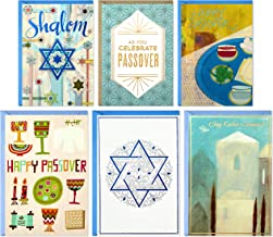 Hallmark Tree of Life Passover Cards Assortment, Happy Passover (6 Cards with Envelopes)