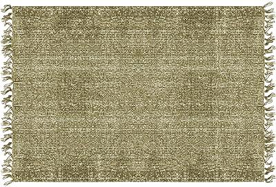 PT Living Carpet Washed Cotton Rectangle Green