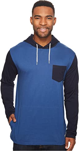 DC - Rellin Long Sleeve Jersey Hooded Top