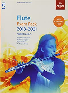 Flute Exam Pack 2018-2021, ABRSM Grade 5: Selected from the 2018-2021 syllabus. Score & Part, Audio Downloads, Scales & Si...
