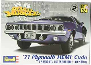 Revell-1971 Plymouth Hemi Cuda 426,Escala 1:24 Kit de Modelos de plástico, (12943)