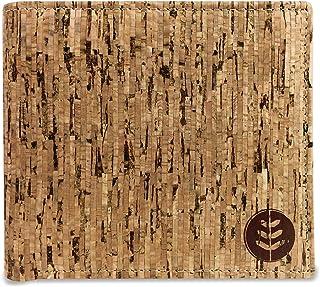 comprar comparacion Money Smart Billetera Vegana de Corcho con Bloqueo RFID, Diseño Clásico, Cartera Natural con Capacidad Máxima para Dinero,...