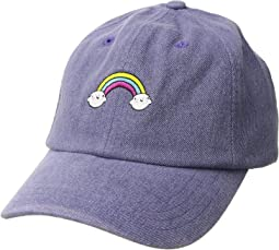 San Diego Hat Company Kids Rainbow Dad Cap (Little Kids/Big Kids)