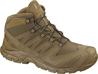 Salomon XA Forces MID Military and Tactical Boot, Coyote, 9.5