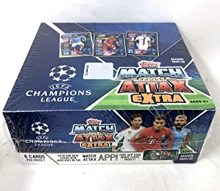Topps 2019/20 UEFA Champions League Match Attax Extra Retail Display Box