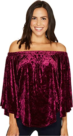 Karen Kane - Velvet Off the Shoulder Top