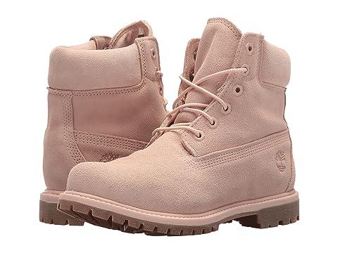 """6"""" Premium Boot, Cameo Rose Suede"""