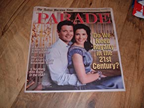 Prince Frederik & Princess Mary of Denmark on cover of Parade magazine, April 19, 2009 issue-Do We Need Royalty in the 21st Century?