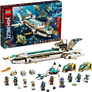LEGO NINJAGO Hydro Bounty 71756 Building Kit; Submarine...