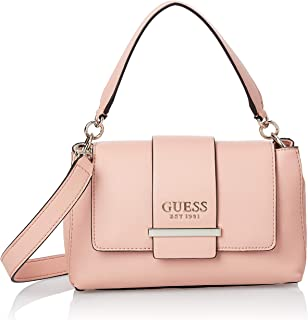 Guess Satchel Bag for Women- Peach