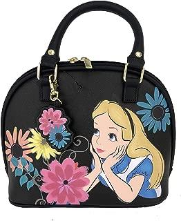 Disney - Alice in Wonderland with Flowers - Duffle Satchel Purse Handbag Bag WDTB1208