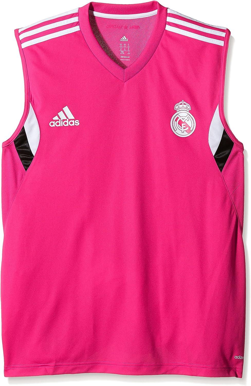 Adidas ärmelloses Real Madrid Training - Camiseta sin Mangas de Escalada para Hombre