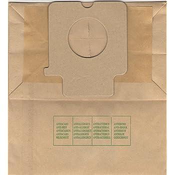 PA1 bolsas para aspiradora Panasonic Serie MC, 10 unidades): Amazon.es: Electrónica