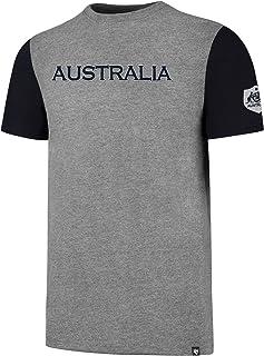 Socceroos Mens Grey '47 Triple up Tee, Grey