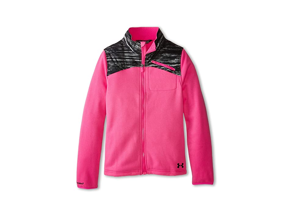 Under Armour Kids UA Corbet Jacket (Big Kids) (Rebel Pink) Girl