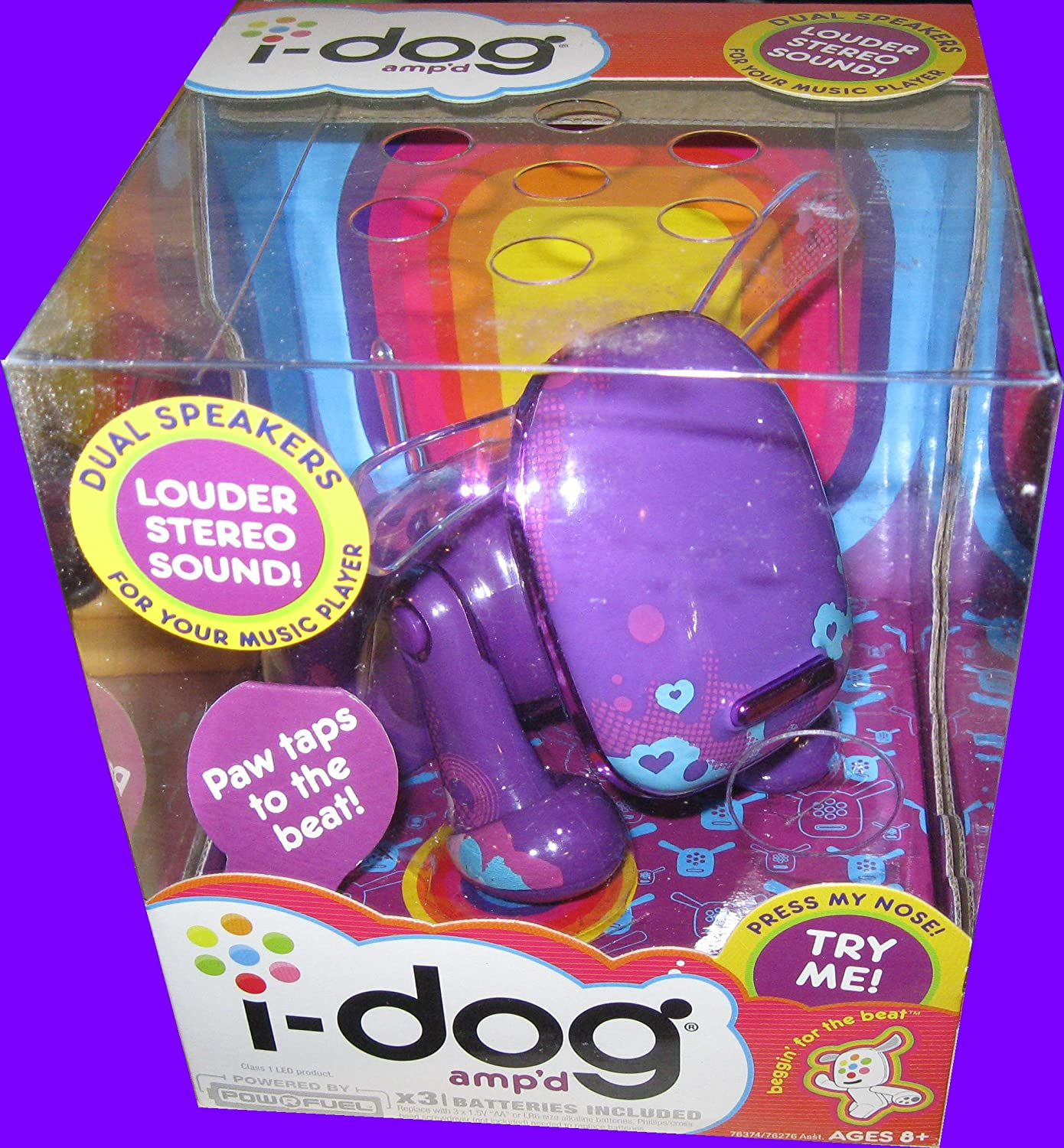 I-DOG Genuine AMP'D PURPLE - Limited time sale INTERACTIVE DOG ELECTRONIC PET