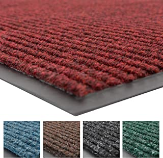 Notrax 109 Brush Step Entrance Mat, for Home or Office, 2' X 3' Red/Black