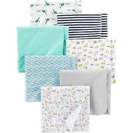 Simple Joys by Carter's - Juego de 7 mantas de franela para bebé