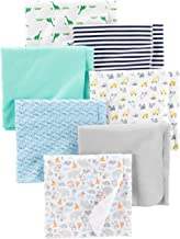 Simple Joys by Carter`s Baby Boys` 7-Pack Flannel Receiving Blankets