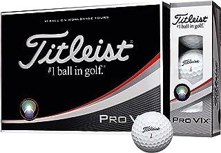 TITLEIST(タイトリスト) ゴルフボール Pro V1X 4ピース(ダブルナンバー) 12個入り ホワイト T2045S-LEJ