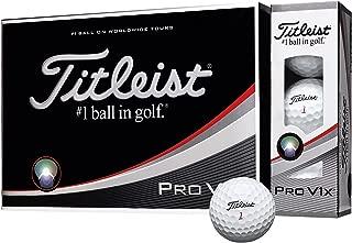 TITLEIST(タイトリスト) ゴルフボール Pro V1X ゴルフボール 12個 4ピース(ハイナンバー) ユニセックス T2045S-H-J ホワイト