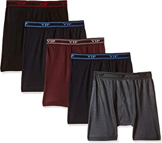 659c12315f2c VIP Ultima Men's Cotton Interlock Trunks Underwear for Men (Pack of ...