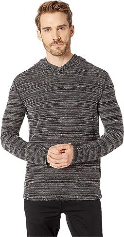 Long Sleeve Slub Terry Pullover Hoodie