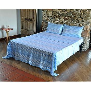 Debajo 175/X 200//–/Anteriormente 240/X 280 /lenzmbassetti15/ /para Cama de Matrimonio Bassetti s/ábanas matrimoniales Speedway Azul Celeste/ /