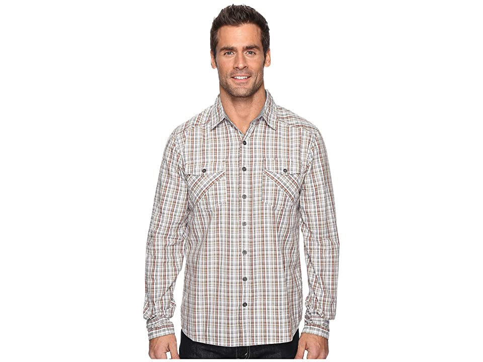Ecoths Brooks Long Sleeve Shirt (Thyme) Men