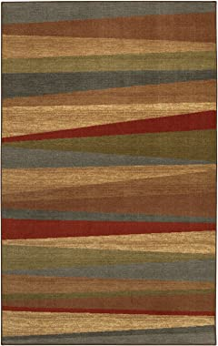 Mohawk Home Tan New Wave Mayan Sunset Sierra Area Rug (5'x8')