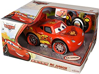 Majorette Remote Control Junior Line Lightning Mcqueen Car, For Above 3 Years