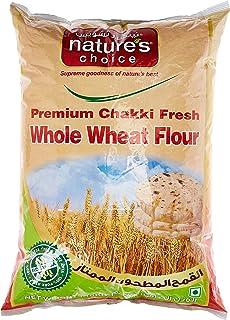 Natures Choice Premium Chakki Fresh Whole Wheat Flour (Atta), 10 kg