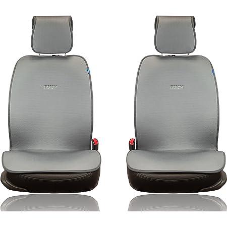 Strawberry AUTSKY Universal Car Seat Cushion Honeycomb Breathable Fruit Four Seasons Cushion Front Single Seat