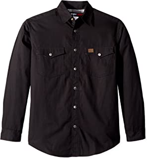 Men's Flannel Lined Ripstop Shirt