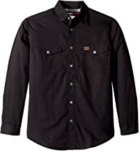 Wrangler Riggs Workwear Men's Flannel Lined Ripstop Shirt