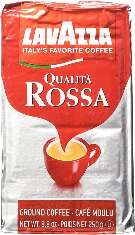 Lavazza Italian Qualita Rossa Ground Espresso 1 Case 20 X 8 8 Oz Bricks